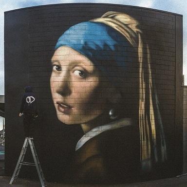 Owen Dippie Large Than Life Murals