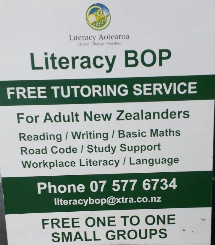 Literacy Bay of Plenty