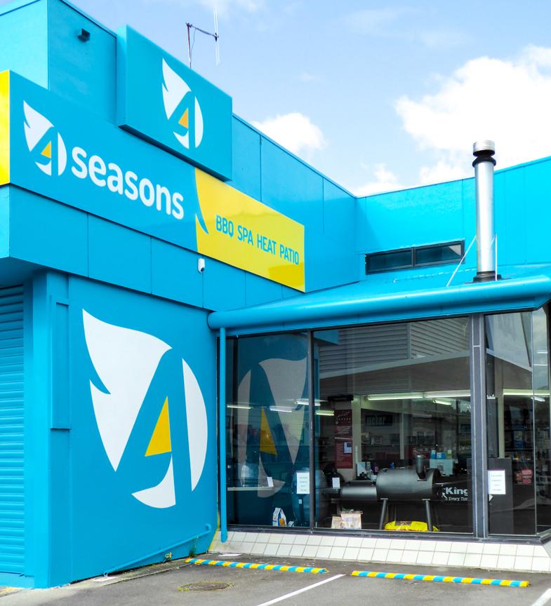 4 seasons indoor outdoor living downtown tauranga for Seasons outdoor