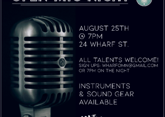 Open Mic Night August 25