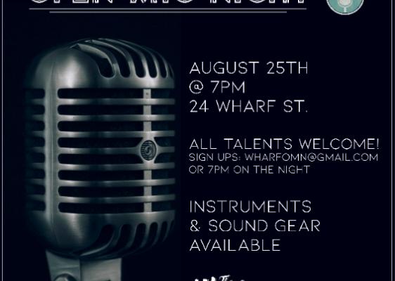 Open Mic Night August 25