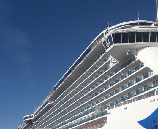 The 2018 - 2019 cruise ship season has begun!