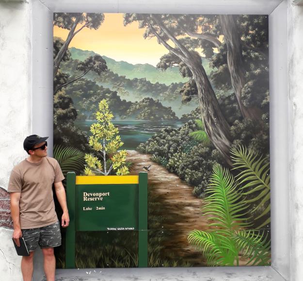 Pop Up Park Art!
