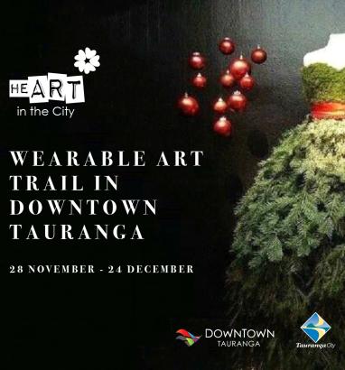 Wearable Art Trail in Downtown Tauranga