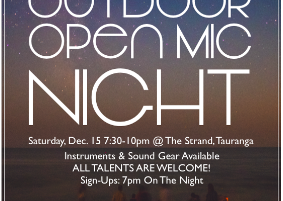 Outdoor Open Mic Night