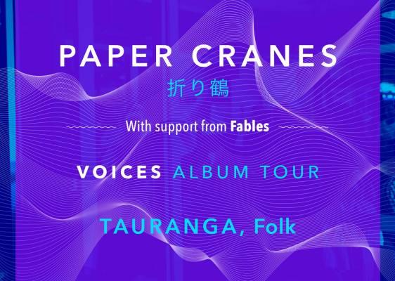 Paper Cranes Voices Tour with Fables