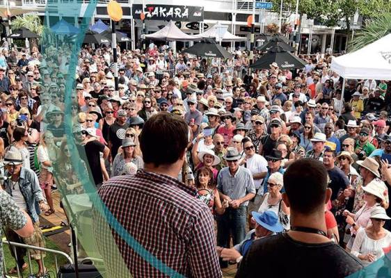 Downtown Tauranga Carnival - 57th National Jazz Festival