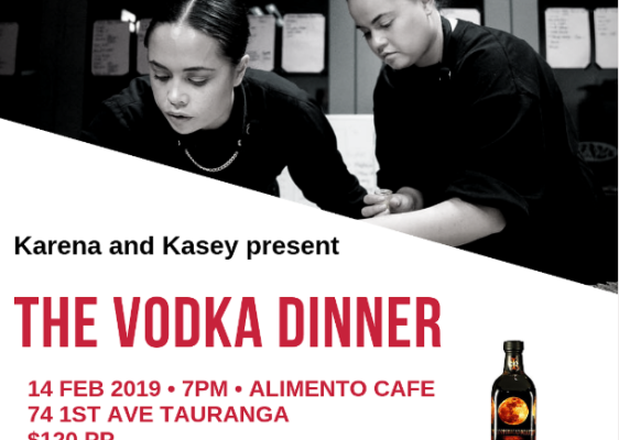 Karena and Kasey present The Vodka Dinner