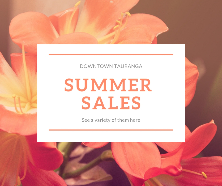 Summer Sales in the City