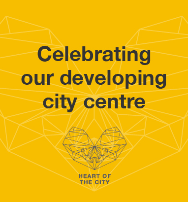 What are you proud of in our city centre?
