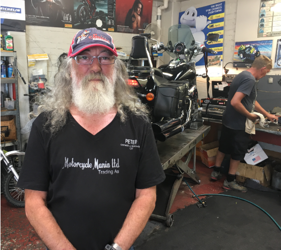 Meet Peter from Smiths Motorcycle Mania
