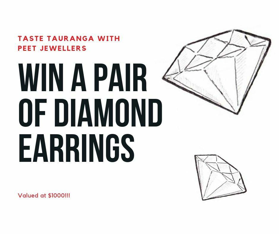 Win a pair of Diamond Earrings!