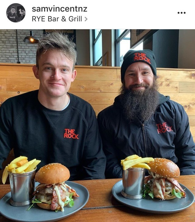 The Rock are judging the Taste Tauranga Burger Comp!