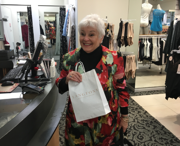 Meet the winner of a $1000 shopping spree!