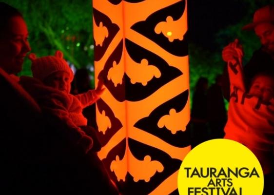 Pou Rama - Tauranga Arts Festival