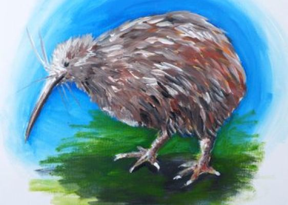 Paint and Wine Night - Kiwi - Paintvine