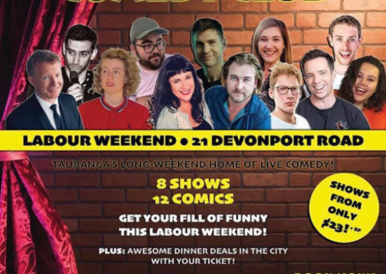 Tauranga Pop Up Comedy Club