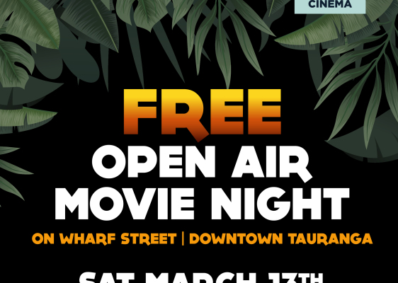 Wharf Street Open Air Movie with Night Owl Cinemas