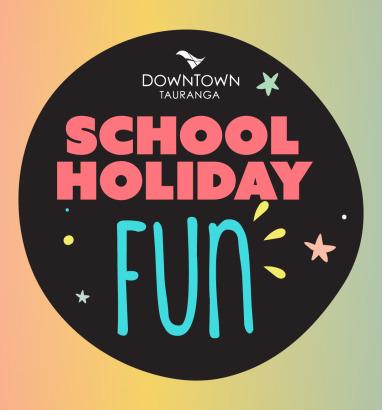 School Holidays in Downtown Tauranga