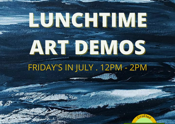 Friday Lunchtime Art Demos at The Collection